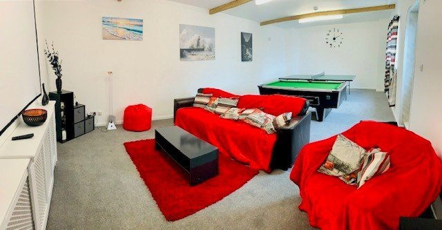 Games room from front